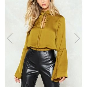 Nasty Gal blouse with tags
